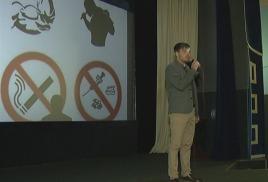 в киноцентре «Дружба» прошла  акция «Киселевск против наркотиков»